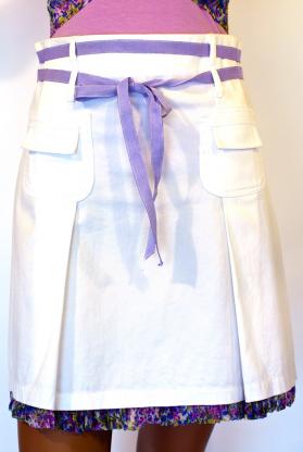 Skirt with a belt(1885323)