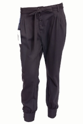 Harem pants with a belt(FZ1050)