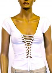 T-shirt with slits(1864458)