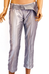 Pants with a leather belt(1852912)