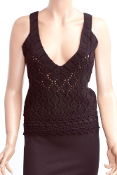 Sleeveless cardigan (883 26 11 1973)